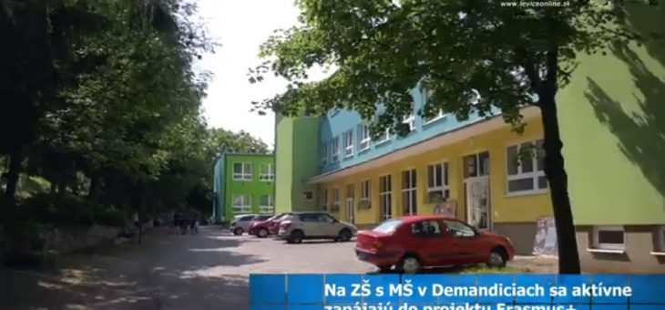 Dissemination of the project on local TV in Slovakia