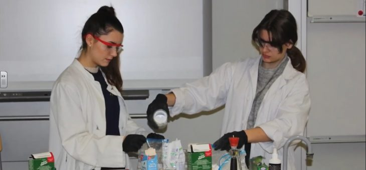 Food conservation experiments in Berlin Romain-Rolland-Gymnasium